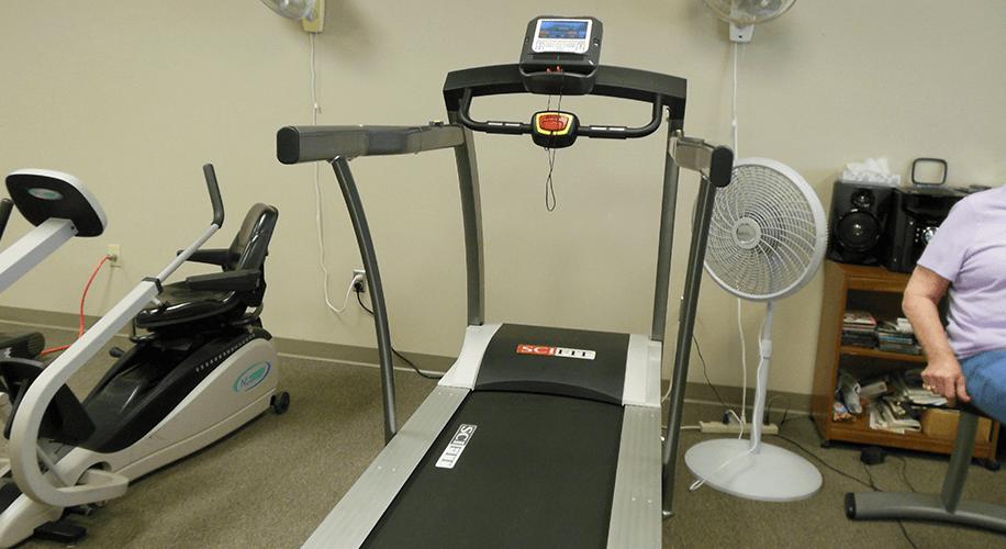 THEF Provides New Treadmill