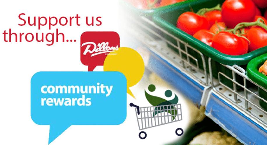 Dillons Community Rewards with Trego Hospital Endowment logo