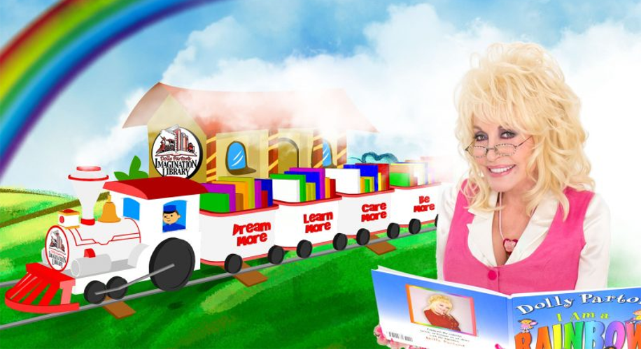 Dolly Parton Imagination Library Train