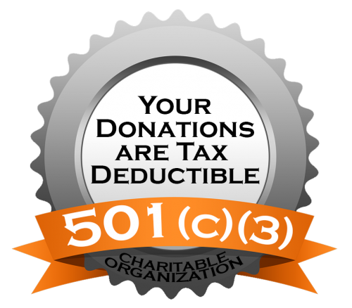 Your Donation is Tax Deductible
