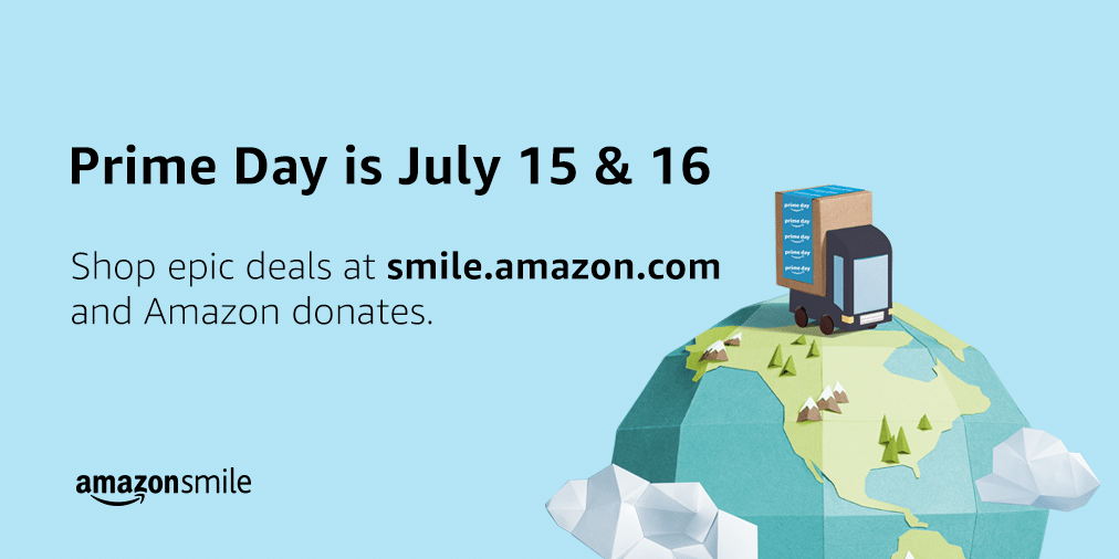 Support THEF on Amazon Prime Day with Amazon Smile