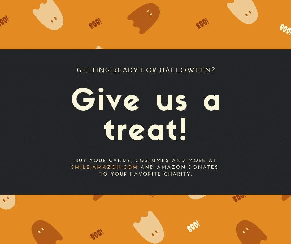 Support THEF with your Halloween shopping